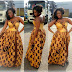 Trendy And Lovely  Ankara  Gown Style