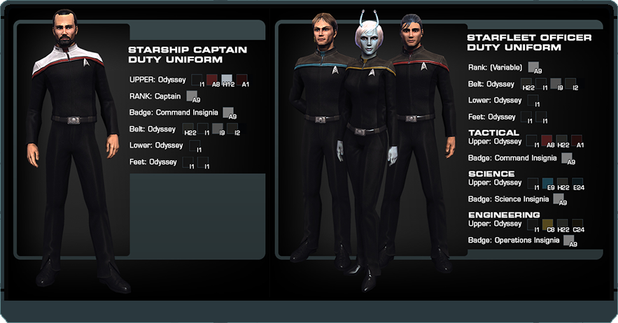 Poll - Favorite Star Trek uniforms | Page 2 | The Trek BBS