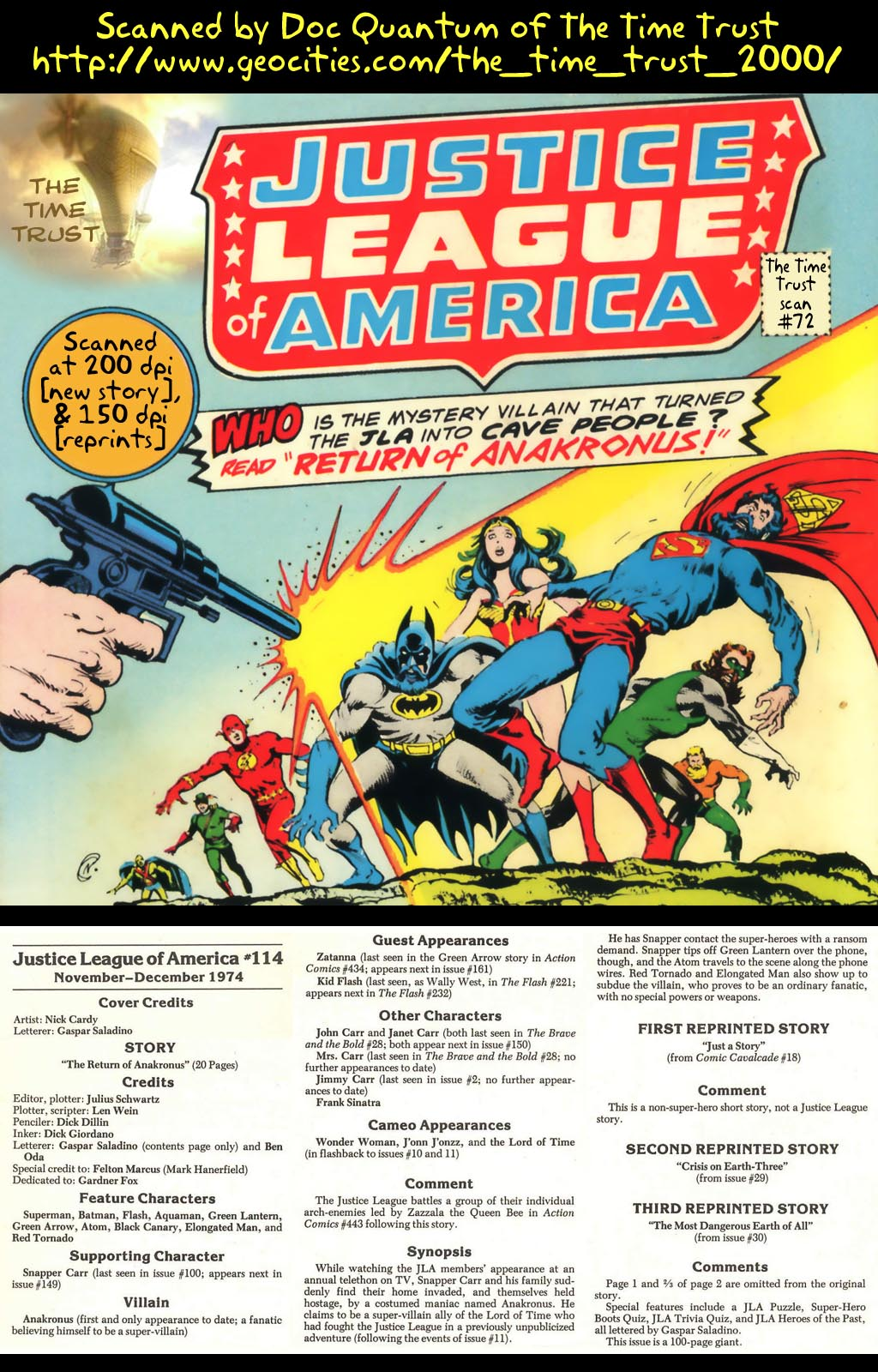 Justice League of America (1960) 114 Page 1