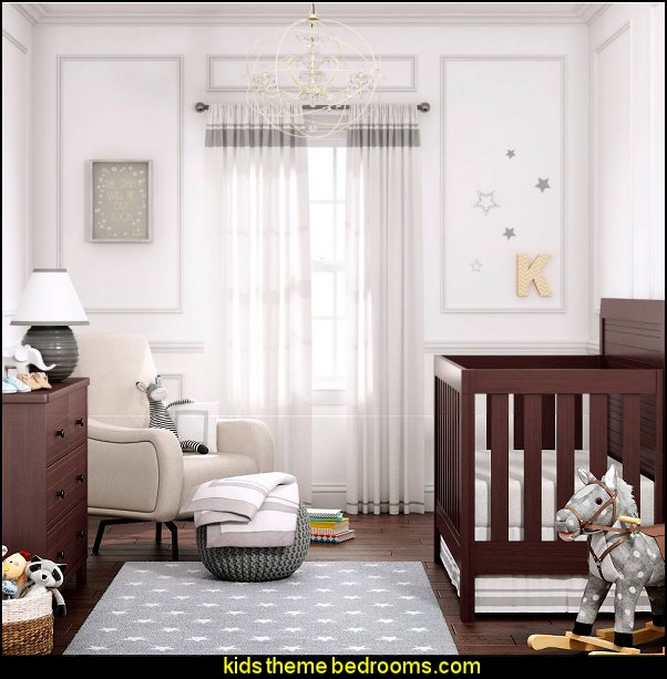 Hotel Nursery Room modern baby bedrooms  modern baby nursery - modern kids bedrooms - modern childrens furniture - modern baby bedding - modern home style decorating Mid Century modern decor - Modern baby bedrooms - modern baby girls nursery - modern baby boys nursery - modern baby