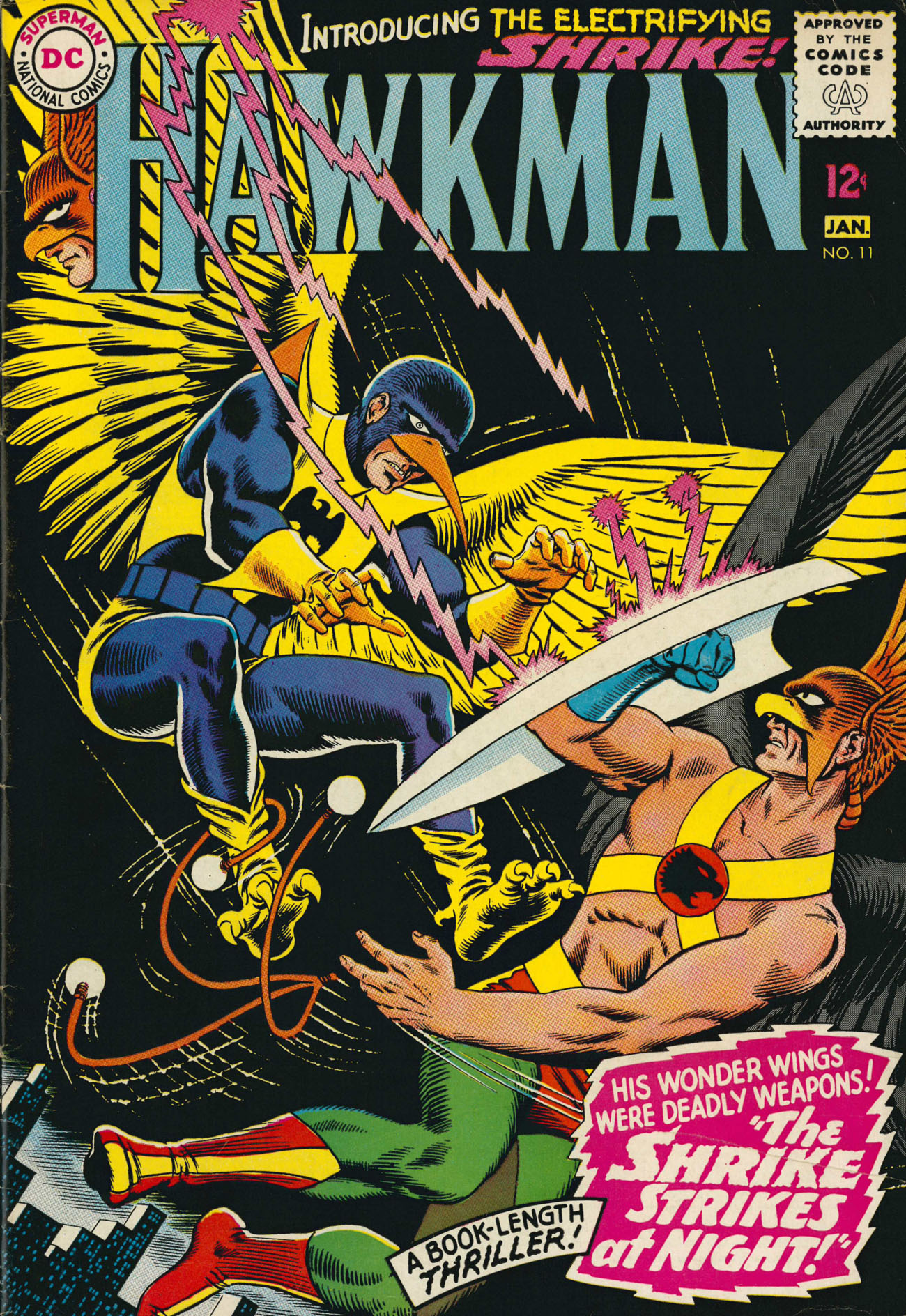 Hawkman (1964) issue 11 - Page 1