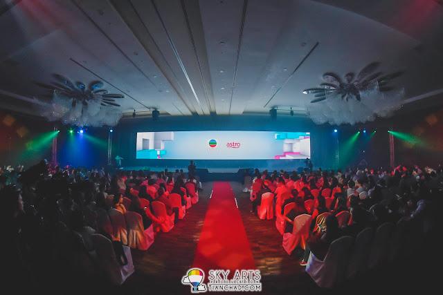 TVB x Astro 翡翠娛樂配套啟動儀式: 一眾TVB紅星莅临馬來西亞出席活动玩大型自拍