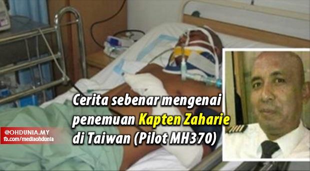 Cerita Sebenar Mengenai Berita Penemuan Juruterbang MH370 Di Taiwan