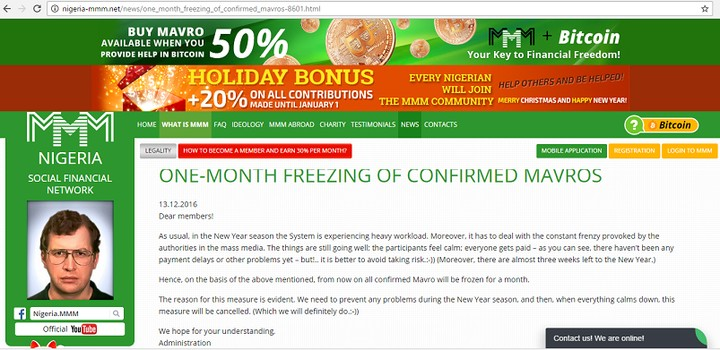 2nd Casualty Of MMM - MMM Participant Slumps, Dies In Bank