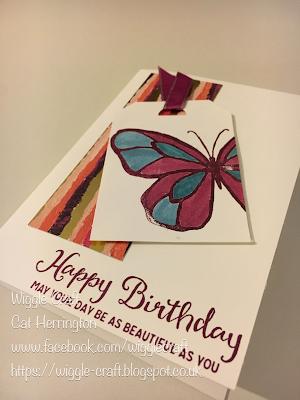 Cat Herrington Wiggle Craft - Stampin' Up! Beautiful Day