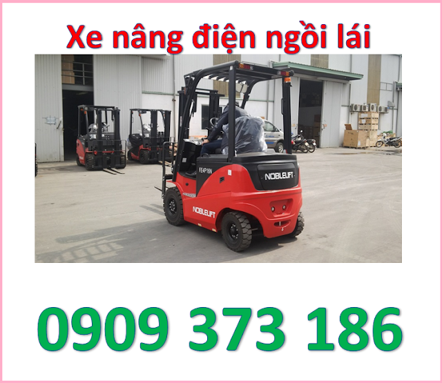 d5 mua xe nâng điện ngồi lái 1600kg noblelift cao 3m, 4m, 5m ở đâu   0909 373 186