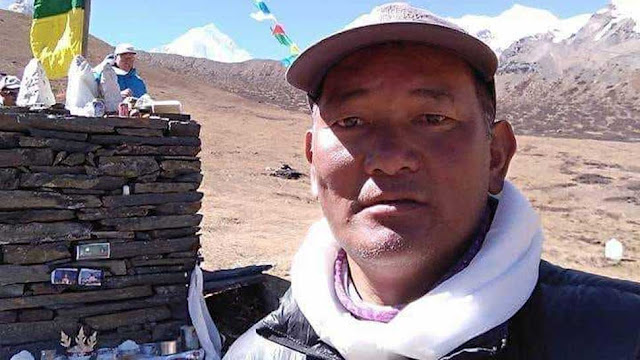 8 times Everest climber Pemba Sherpa