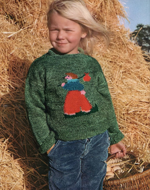The Vintage Pattern Files: Free 1970's Knitting Patterns - Les fables de la ferme