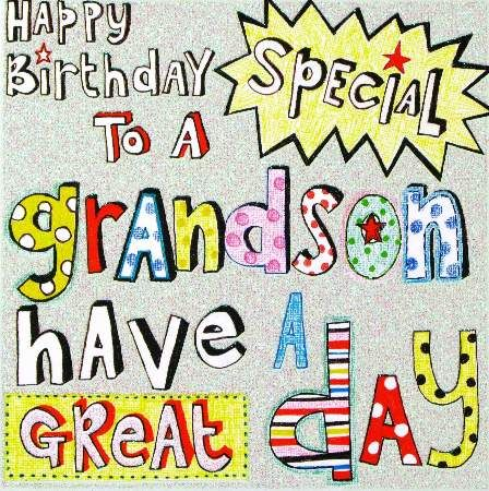 Send Personalized Ecards Sweet Grandson Birthday Which You Can Also Customized By Own Write Poem Or