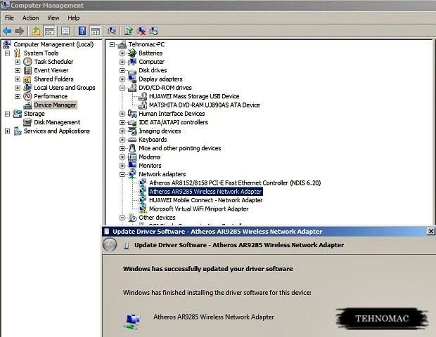 laptop tidak bisa mendeteksi wifi tehnomac