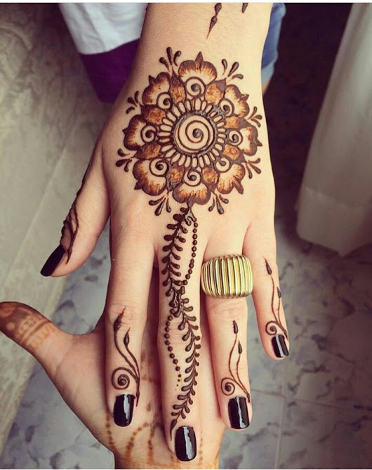 Beautiful Hand Mehndhi Design 2016