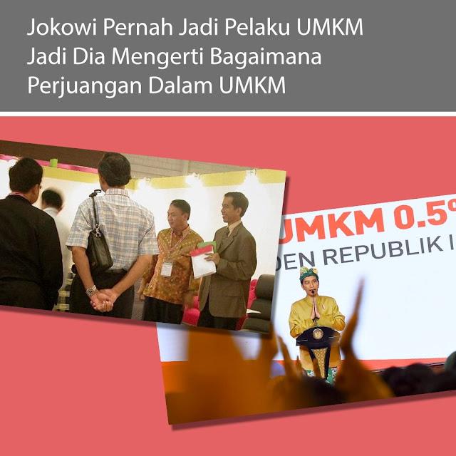 Jokowi Pernah Jadi Pelaku UMKM, Jadi Dia Mengerti Bagaimana Perjuangaan Dalam UMKM