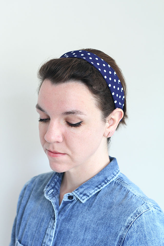 Style yourself pretty! Make your own headbands!