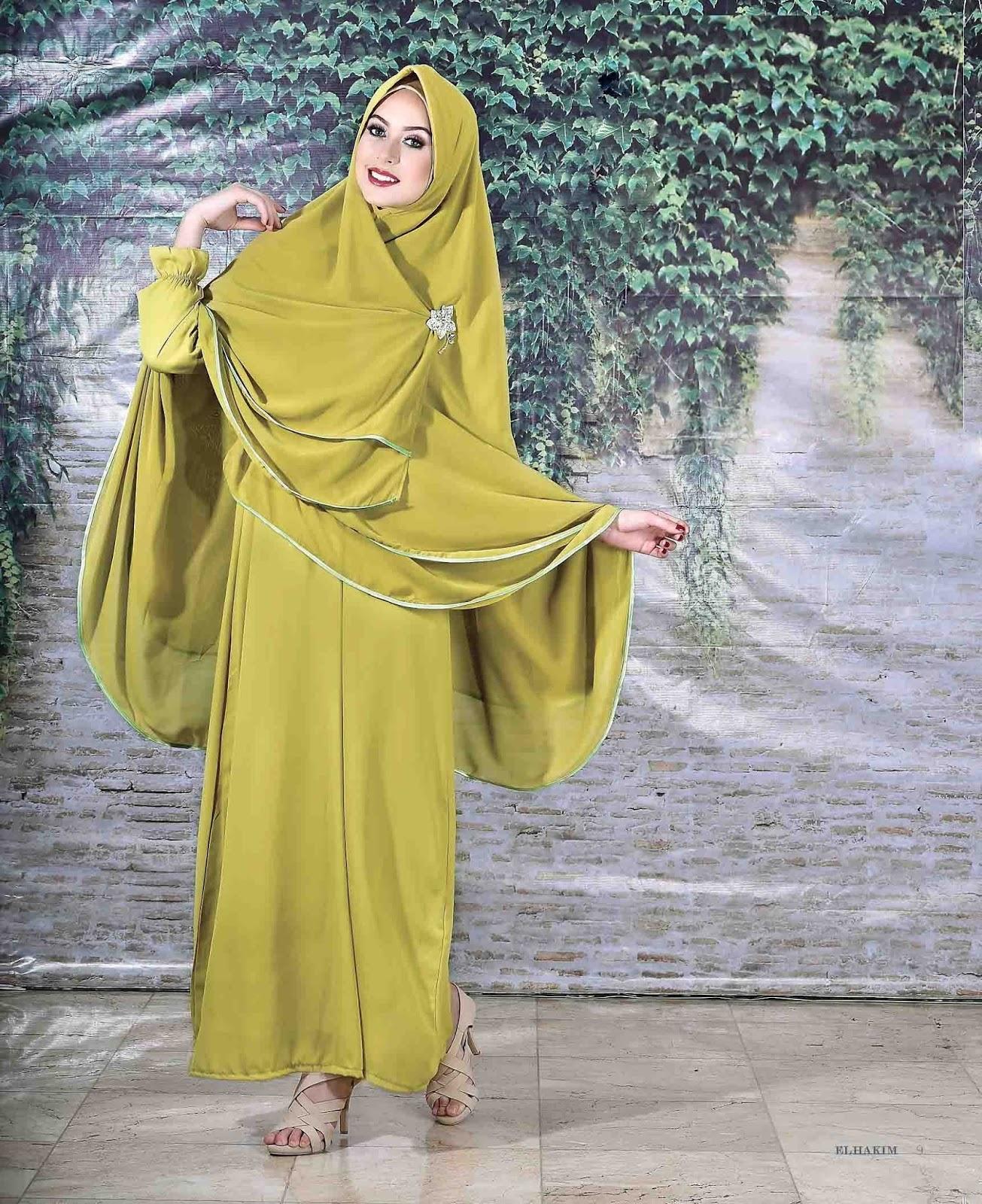 10 Model Baju Gamis Syari 2017