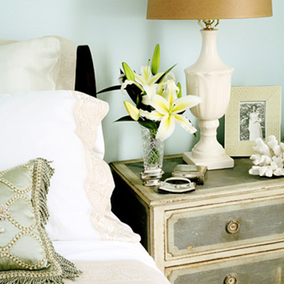 Creative choices interior s would you like a side with that - How to decorate a nightstand ...