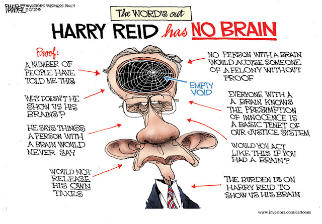 Harry Reid Has No Brain