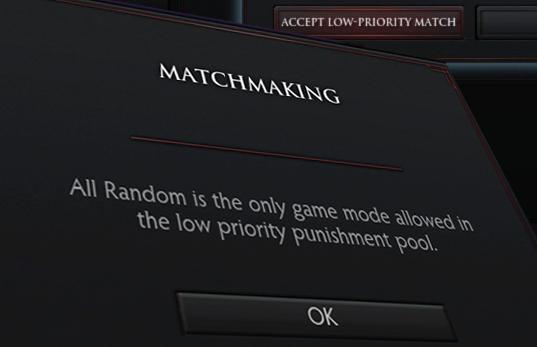 Draft mode matchmaking
