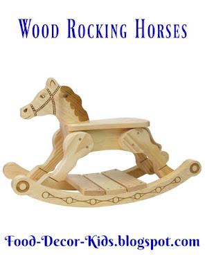 Wood Rocking Horses