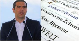 Αλέξης Τσίπρας σε γερμανική εφημερίδα: «Επαναφέραμε στην Ελλάδα το αίσθημα της κανονικότητας»