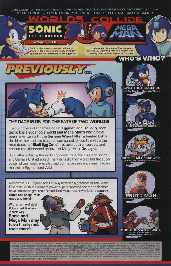 Read online Sonic The Hedgehog comic -  Issue #249 - 3