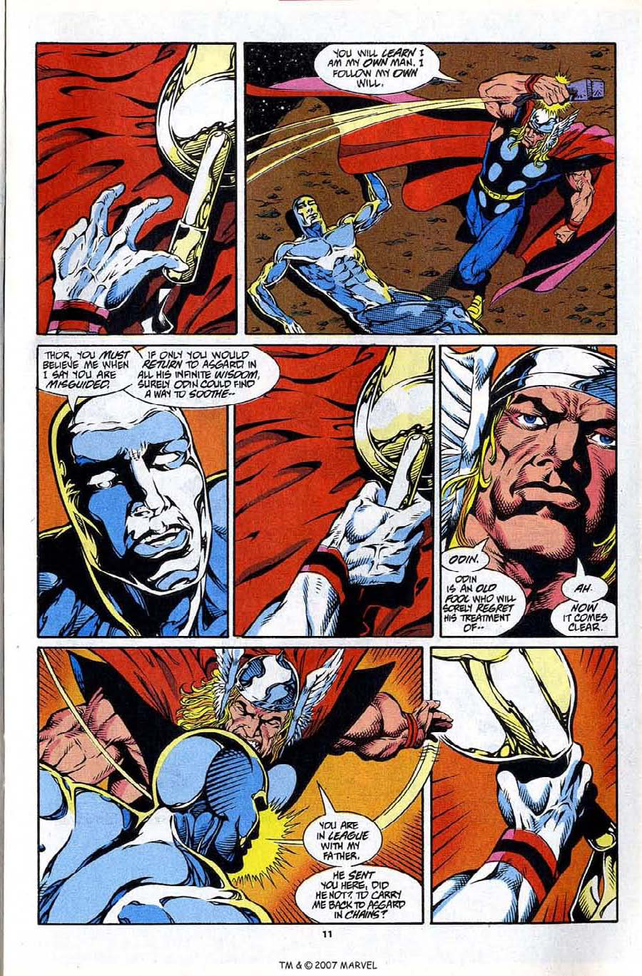 Read online Silver Surfer (1987) comic -  Issue #86 - 13