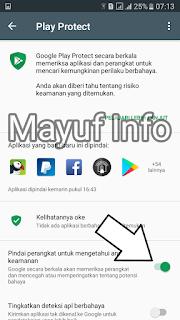 Cara Mematikan/Mengaktifkan Google Play Protect Terbaru