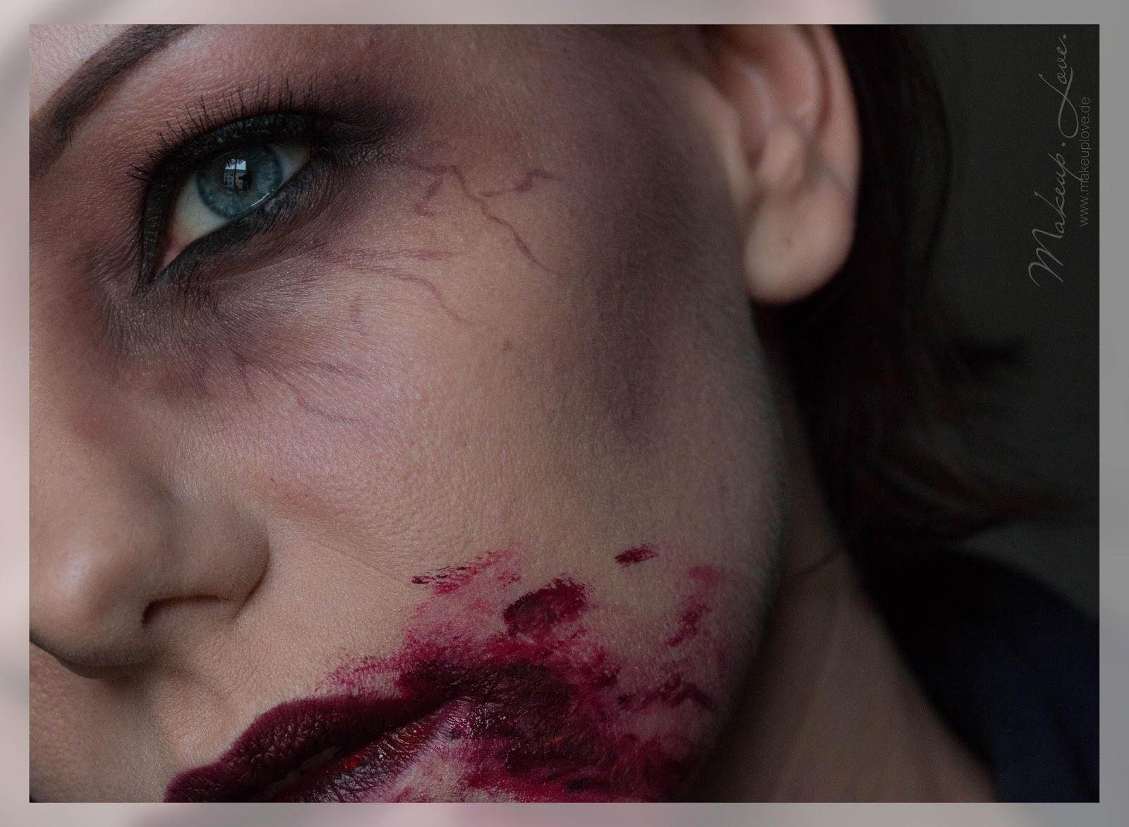 vampir gesichter schminken