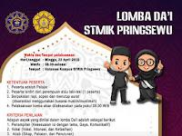 Design Brosur Lomba Da'i STMIK Pringsewu