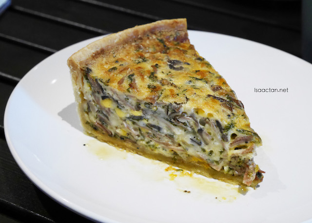 Chicken Sausage With Leek Quiche (RM12.00)