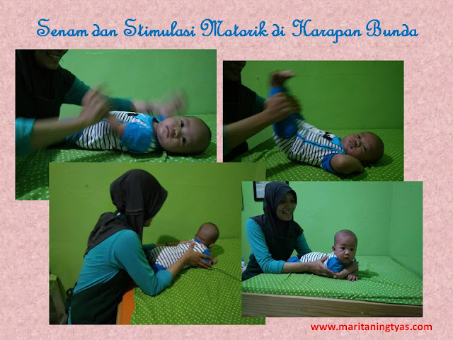 Baby Gym di Harapan Bunda Baby Massage Center Semarang