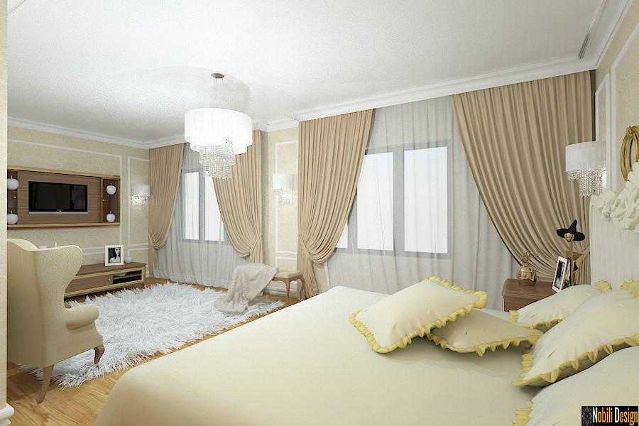 Nobili Design | Amenajare interioara dormitor casa in Braila | Birou arhitectura de interior Braila.