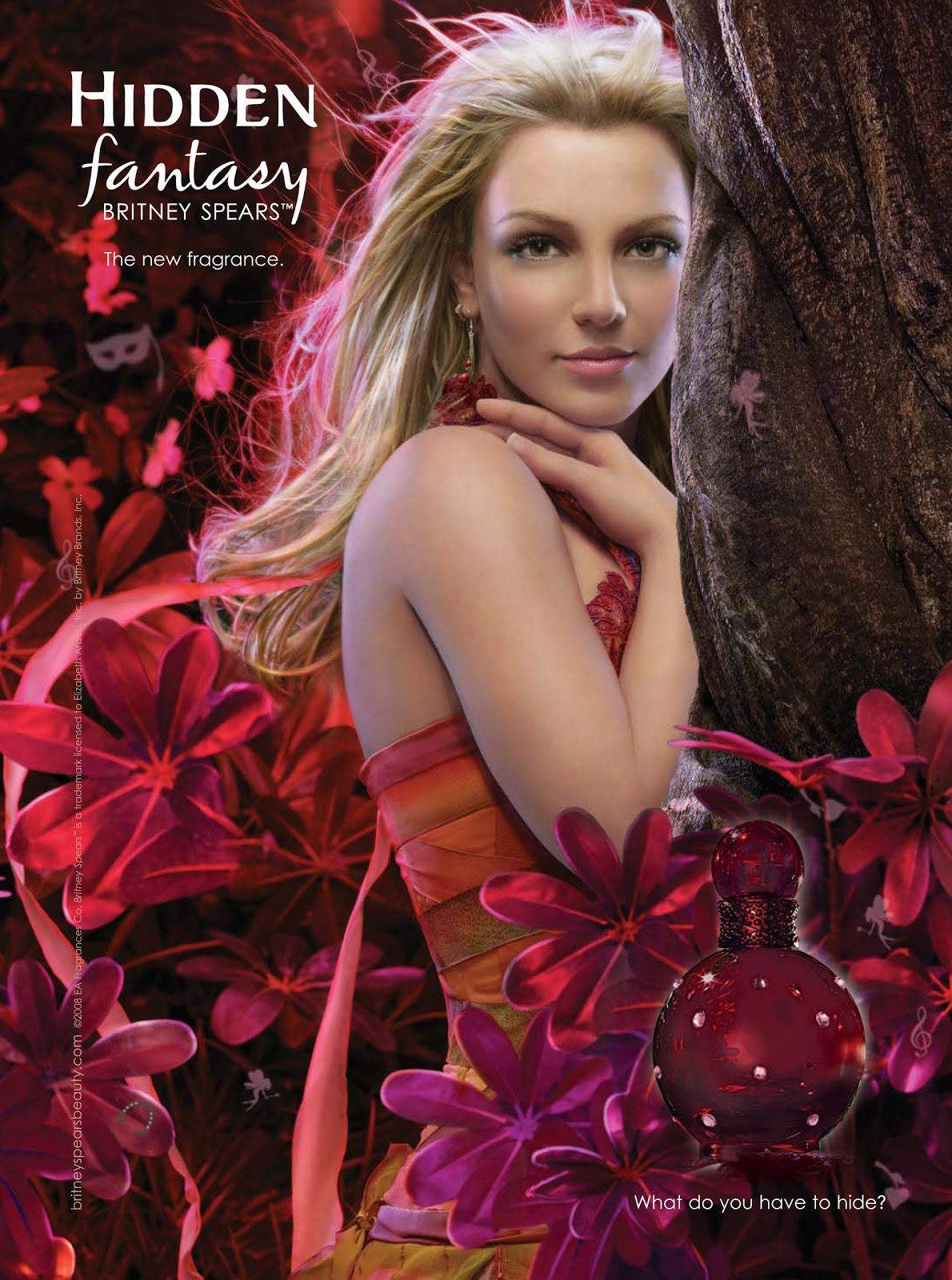 celebrities movies and games hidden fantasy perfume by