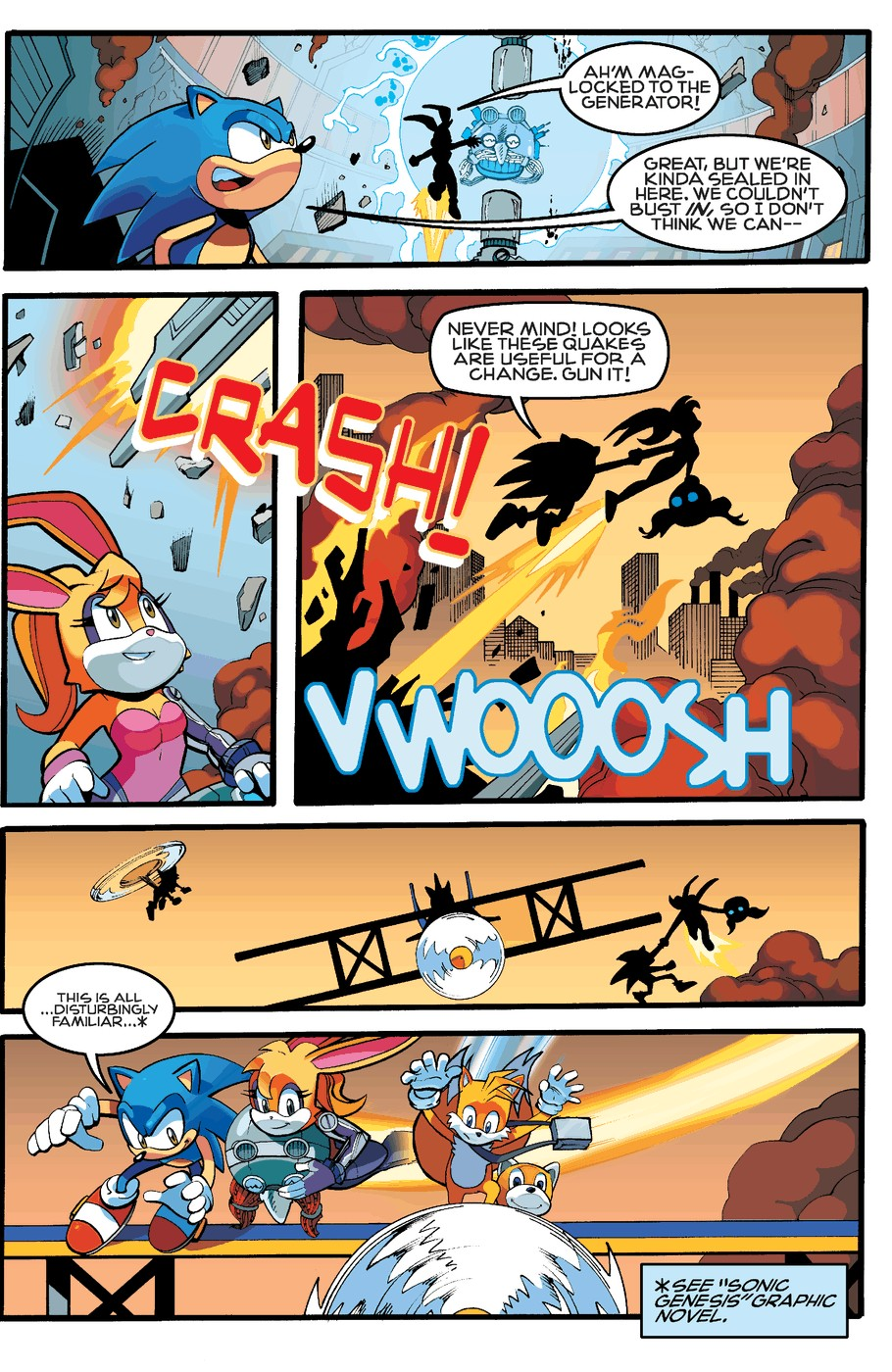 Read online Sonic The Hedgehog comic -  Issue #255 - 18