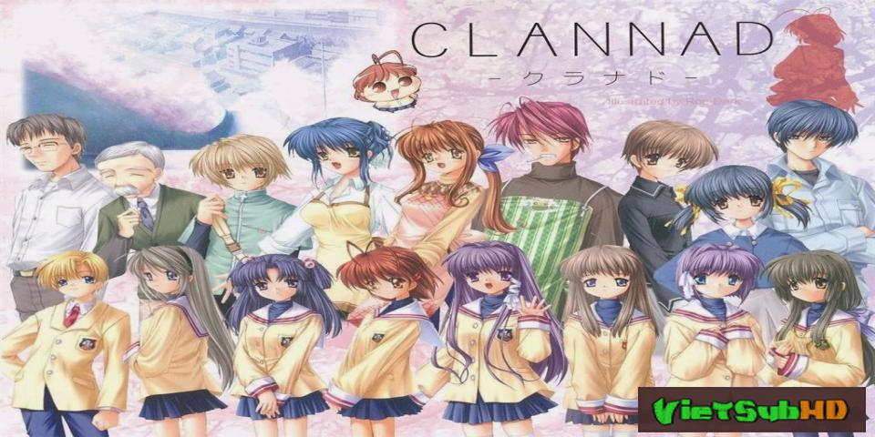 Phim Clannad Full 24/24 VietSub HD | Clannad 2013