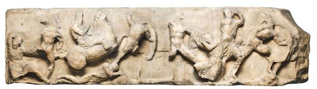 Οι μάχες σώμα με σώμα και η συντριβή του ιππικού των Περσών από τους Αθηναίους οπλίτες μέσα στο μικρό έλος του Μαραθώνα