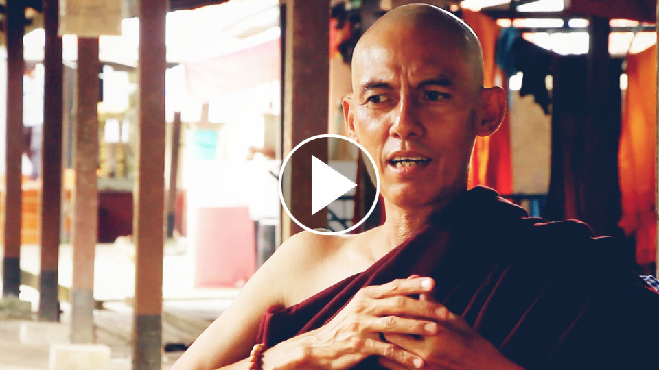 Kin Kaung Enter Monk-hood to fulfill his Mom's Wish