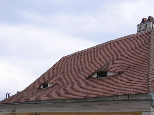 what you did there the roof sees it