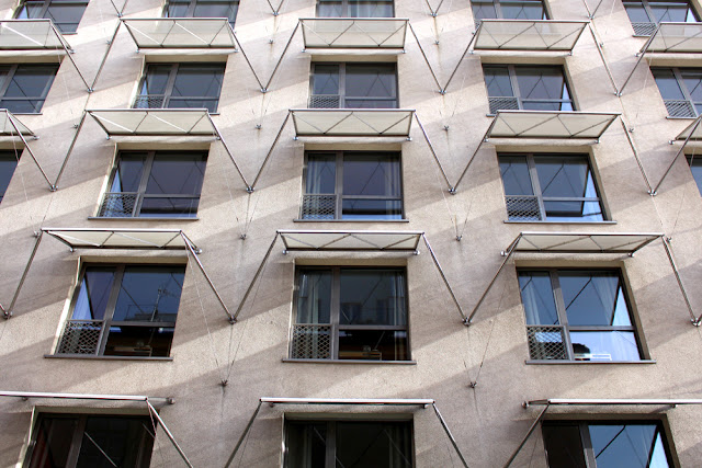 Modern glass facade at Hotel Josef, Prague - boutique hotels, Czech Republic - Europe travel blog