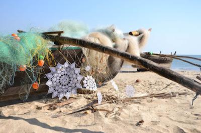 Chrochet en la playa
