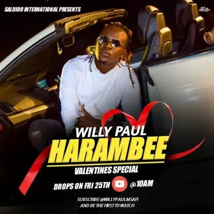 Download Audio   Willy Paul - Harambee