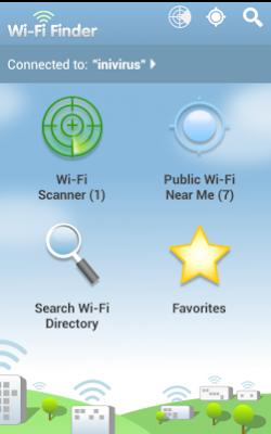 Cara Mudah Melacak Hotspot Wifi Gratis Mengunakan Wifi Finder
