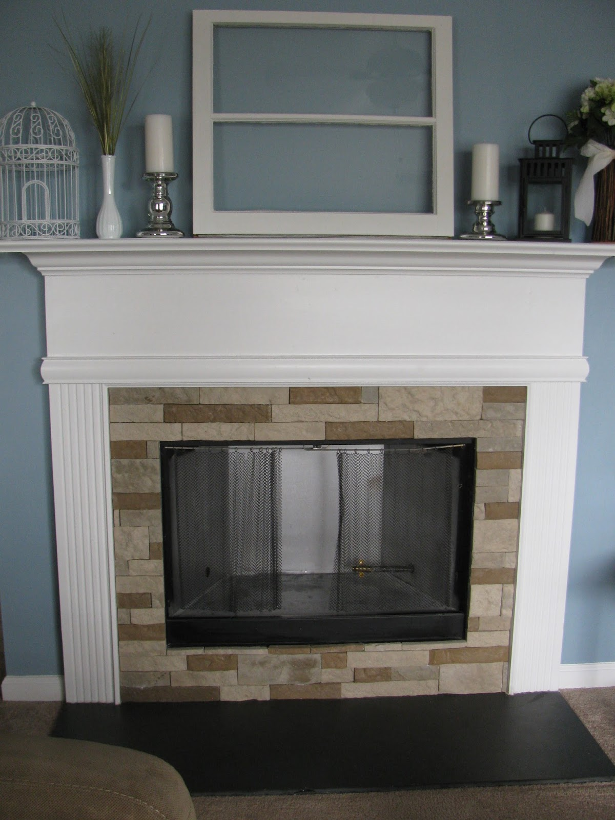 Diy Fireplace Makeover Before And After