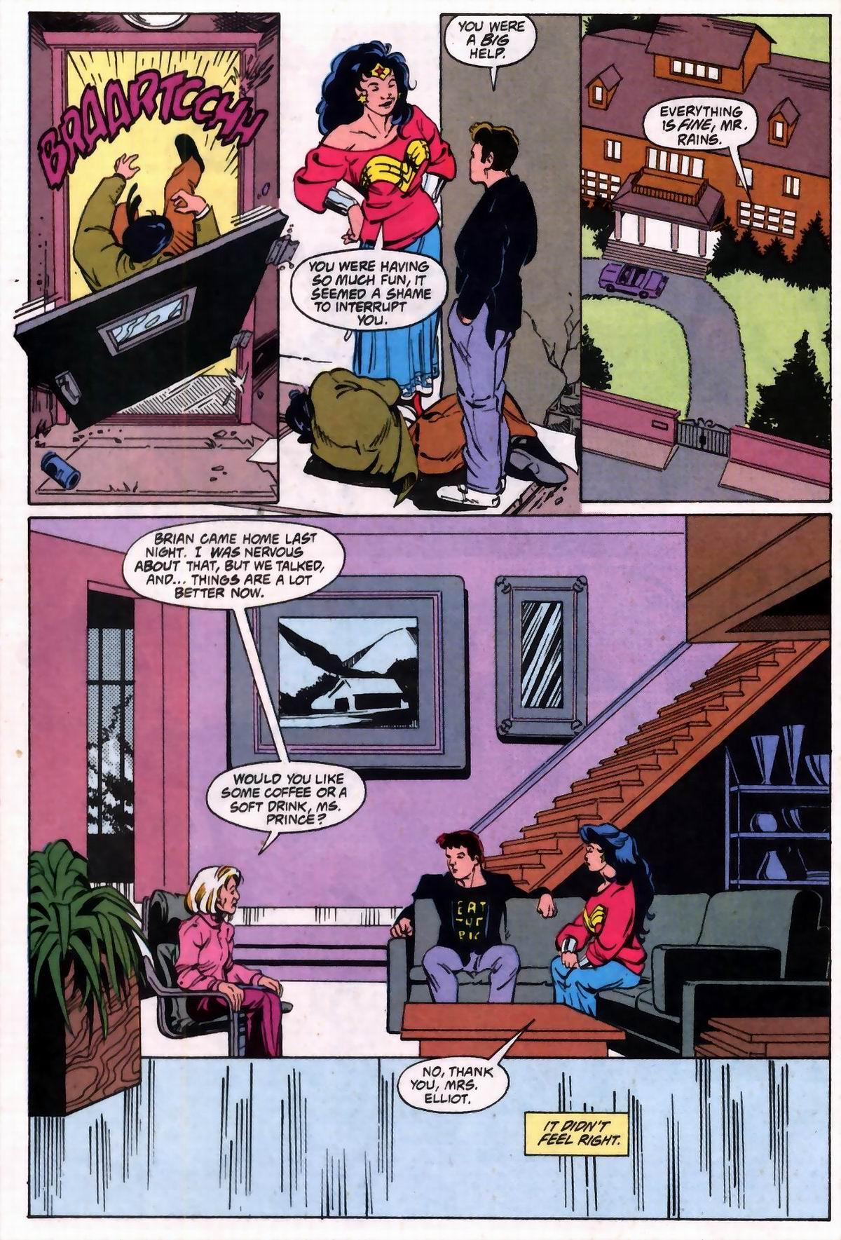 Read online Wonder Woman (1987) comic -  Issue #74 - 13