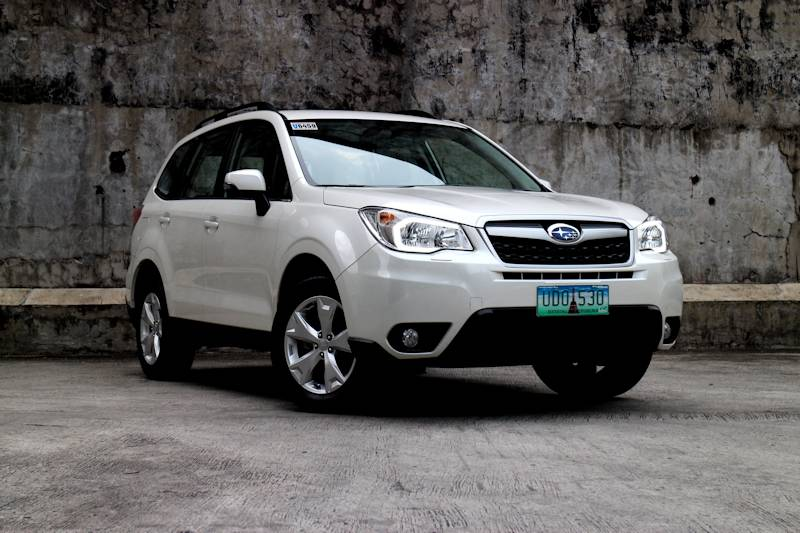 Review 2013 subaru forester 2 0 i l philippine car news for Subaru forester paint job cost