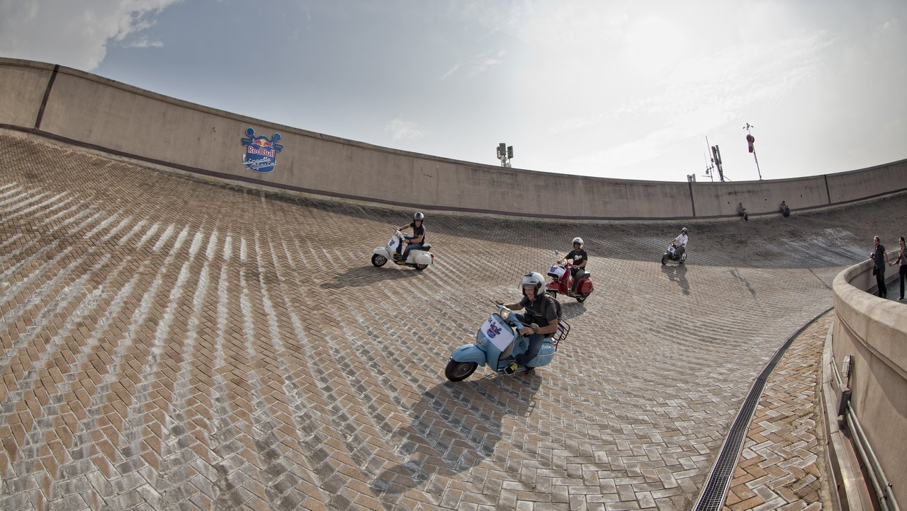 Hell On Wheels Red Bull Lingotto Special 2011 Vespa