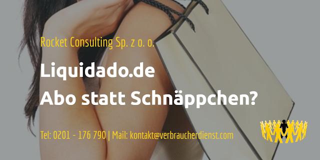 Titelbild: Rocket Consulting Sp. z o. o.  Liquidado.de