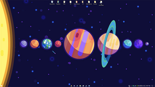 Planets Wallpaper Engine