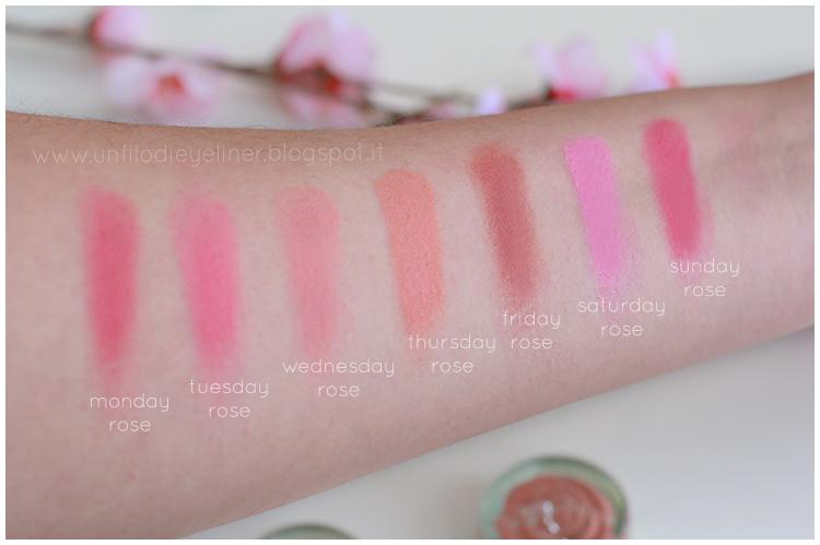 Neve Cosmetics - Blush Garden: Preview e swatch