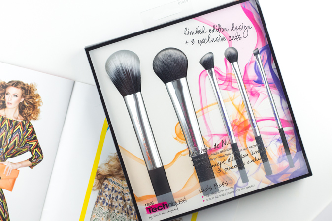 real techniques nics picks brush set review