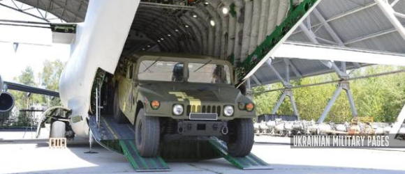 Ан-178 завантаження HMMWV M1097A2